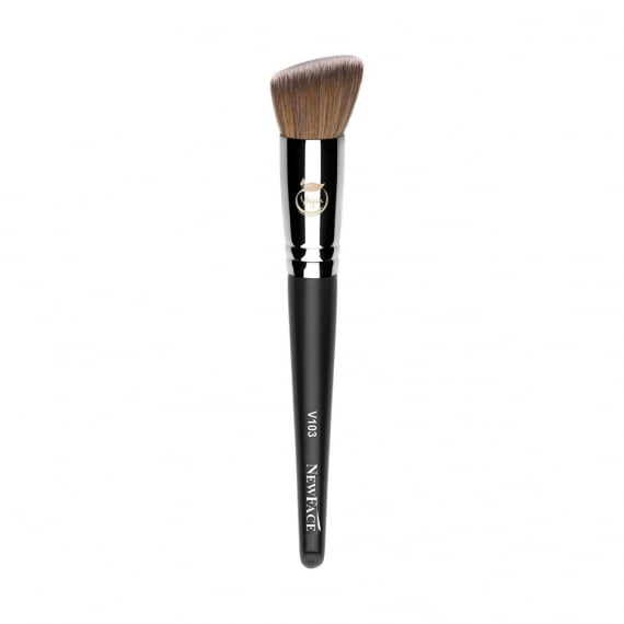 PINCEL DE MAQUIAGEM FLAT TOP POWDER BRUSH VEGANO